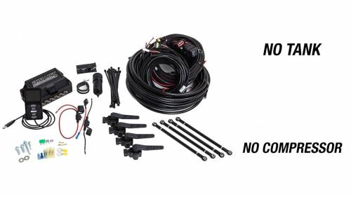 "Performance Air Suspension - Control Systems - Air Lift Performance - 27690 | 3H (1/4"" Air Line, No Tank, No Compressor)"