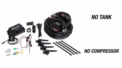 "Performance Air Suspension - Control Systems - Air Lift Performance - 27695 | 3H (3/8"" Air Line, No Tank, No Compressor)"