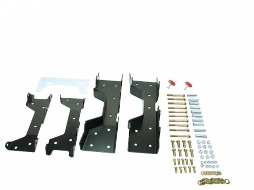 Suspension Components - Flip Kits, C-Notches - Belltech Suspension - 6617 | C-Notch Kit (5.25 Inch Frame)