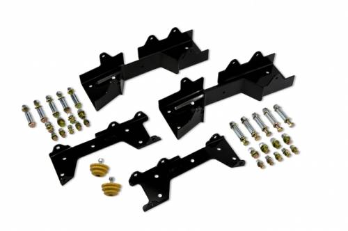 Suspension Components - Flip Kits, C-Notches - Belltech Suspension - 6613 | GM C-Notch Kit (5 Inch Frame)