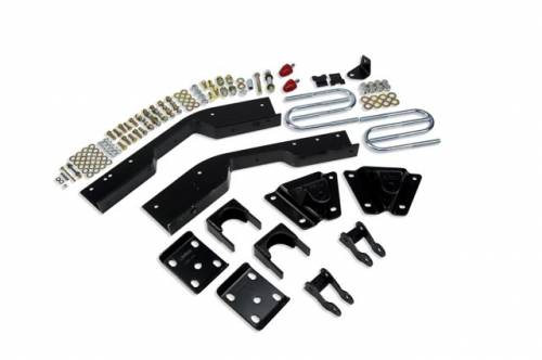 Suspension Components - Flip Kits, C-Notches - Belltech Suspension - 6634 | 7 Inch GM Rear Flip Kit