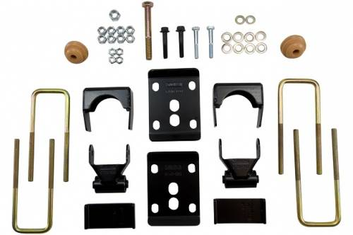 Suspension Components - Flip Kits, C-Notches - Belltech Suspension - 6442 | 5.5 Inch Ford Rear Flip Kit