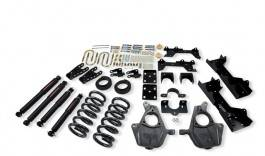 Suspension Components - Accessories - Belltech Suspension - 681ND | Complete 4-5/6-7 Lowering Kit with Nitro Drop Shocks