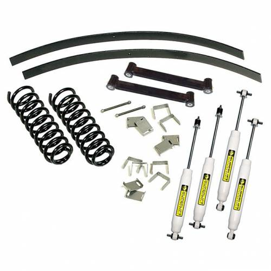 Suspension - Suspension Lift Kits - SuperLift - K369 | 2.5 Inch Jeep Suspension Lift Kit w/ Superide Shocks