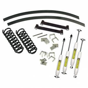 Suspension - Suspension Lift Kits - SuperLift - K370 | 2.5 Inch Jeep Suspension Lift Kit w/ Superide Shocks