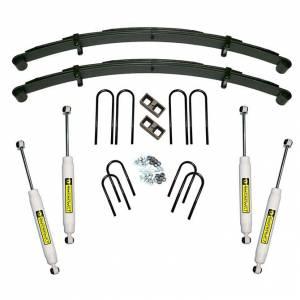 Suspension - Suspension Lift Kits - SuperLift - K448 | 4  Inch GM Suspension Lift Kit w/ Superide Shocks | 52 Inch Rear Springs