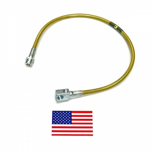 Suspension Components - Brake Lines - SuperLift - 91296| Bullet Proof Brake Hoses | Rear