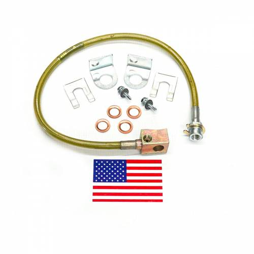 Suspension Components - Brake Lines - SuperLift - 91465 | | Bullet Proof Brake Hoses | Rear