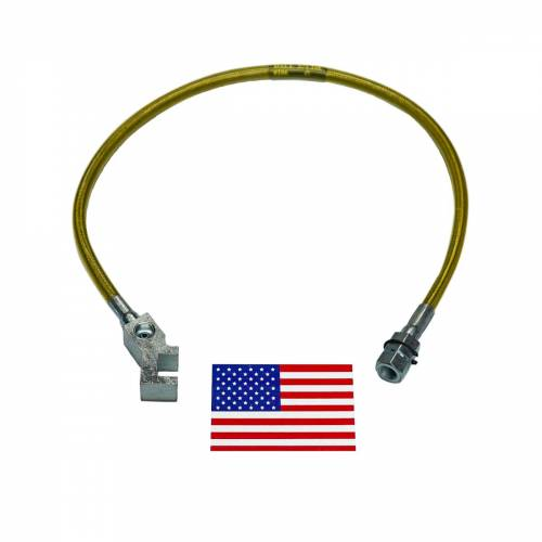 Suspension Components - Brake Lines - SuperLift - 91515 | | Bullet Proof Brake Hoses | Rear