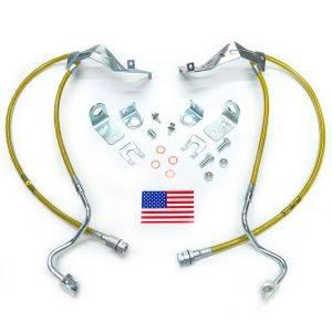 Suspension Components - Brake Lines - SuperLift - 91520 | | Bullet Proof Brake Hoses | Front
