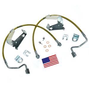 Suspension Components - Brake Lines - SuperLift - 91540 | | Bullet Proof Brake Hoses | Front