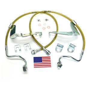 Suspension Components - Brake Lines - SuperLift - 91560 | | Bullet Proof Brake Hoses | Front