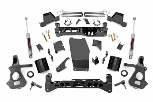 Suspension - Suspension Lift Kits - Rough Country Suspension - 17430 | 7 Inch Suspension Lift Cast Aluminum or Stamped Steel Control Arm