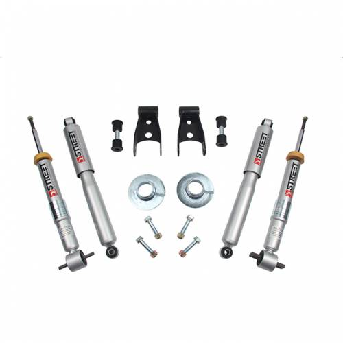 Suspension - Suspension Lowering Kits - Belltech Suspension - 1002SP | Complete 1-3/2 Lowering Kit with Street Performance Shock