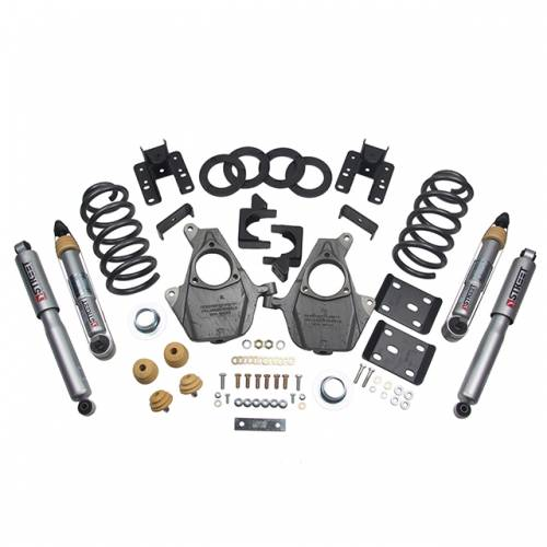 Suspension - Suspension Lowering Kits - Belltech Suspension - 1012SP | Complete 3-4/5-6 Lowering Kit with Street Performance Shocks