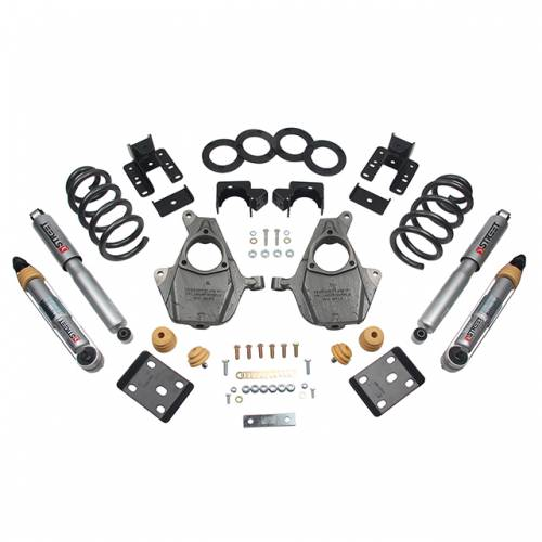 Suspension - Suspension Lowering Kits - Belltech Suspension - 1013SP | Complete 3-4/5-6 Lowering Kit with Street Performance Shocks