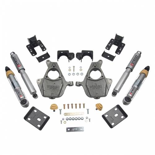 Suspension - Suspension Lowering Kits - Belltech Suspension - 1014SP | Complete 3-4/5-6 Lowering Kit with Street Performance Shocks