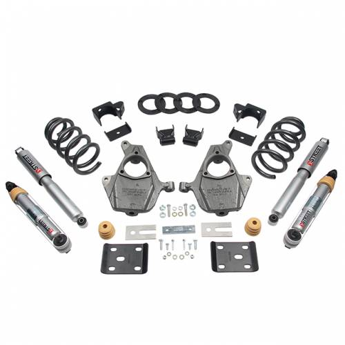 Belltech Suspension - 1016SP | Complete 3-4/7 Lowering Kit with Street Performance Shocks