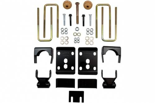 Suspension Components - Flip Kits, C-Notches - Belltech Suspension - 6445 | 4 Inch Ford Rear Flip Kit