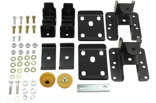 Suspension Components - Flip Kits, C-Notches - Belltech Suspension - 6525 | 5-6 Inch GM Rear Flip Kit