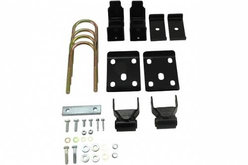 Suspension Components - Flip Kits, C-Notches - Belltech Suspension - 6526 | 7 Inch GM Rear Flip Kit