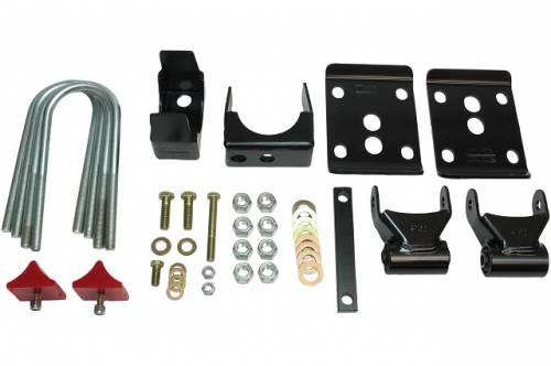 Suspension Components - Flip Kits, C-Notches - Belltech Suspension - 6640 | 5.5 Inch GM Rear Flip Kit
