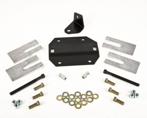 Drivetrain - Carrier Bearing Drop Kits - Belltech Suspension - 4990 | Ford Drive line Correction Kit | 4-7 Inch Rear Kit