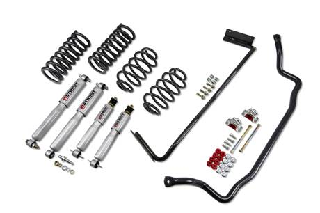 Suspension Components - Accessories - Belltech Suspension - 1730 | GM Muscle Car Performance Kit - 1.0 F / 1.0 R