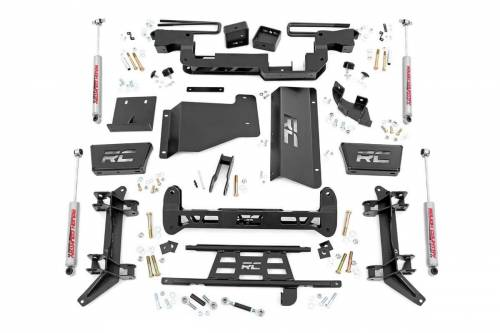 Suspension - Suspension Lift Kits - Rough Country Suspension - 16130 | GM 6 Inch Suspension Lift Kit