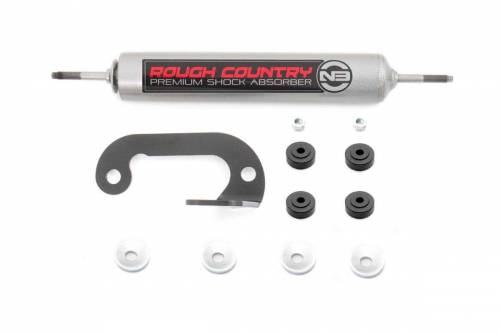 Suspension Components - Steering Stabilizers - Rough Country Suspension - 8731230 | GM Steering Stabilizer