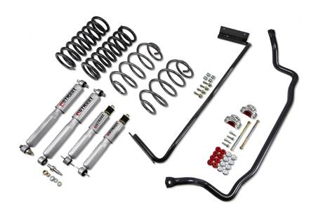 Suspension Components - Accessories - Belltech Suspension - 1733 | GM Muscle Car Performance Kit - 0.0 F / 0.0 R