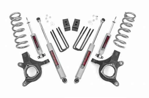 Spotlight Products - Daily Deals - Rough Country Suspension - 239N2 | 4.5 Inch GM Suspension Lift Kit