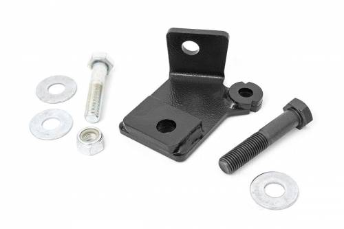 Suspension Components - Track Bars & Brackets - Rough Country Suspension - 31002 | Dodge Front Track Bar Bracket