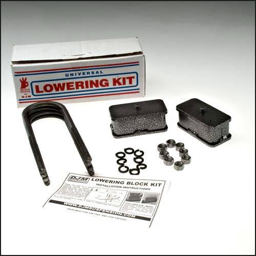 Suspension Components - Block & U Bolt Kits - DJM Suspension - SB2397-2 | 2 Inch Dodge Rear Block  Kit