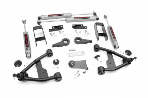 Spotlight Products - Daily Deals - Rough Country Suspension - 24230 | 2.5 Inch GM Suspension Lift Kit