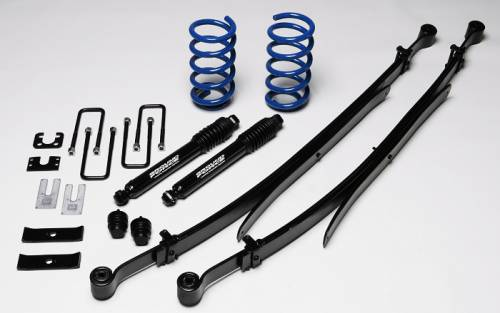 Ground Foce Suspension - 9852 | Complete 2 in Front / 4 in Rear Lowering Kit