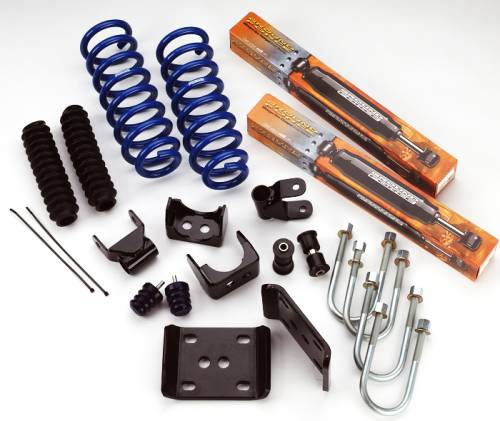Ground Foce Suspension - 9933 | Complete 3 in Front / 5 in Rear Lowering Kit