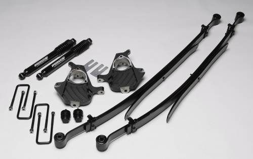 Ground Foce Suspension - 9997 | Complete 2/4 Lowering Kit with Shocks