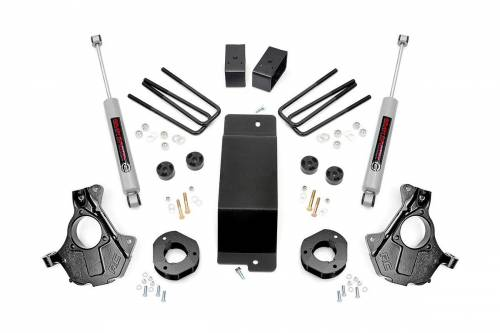 Suspension - Suspension Lift Kits - Rough Country Suspension - 11930 | 3.5 Inch GM Suspension Lift Kit