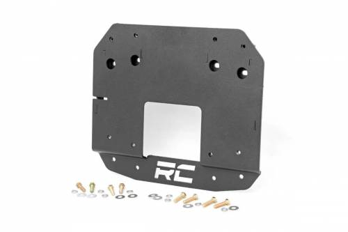 Rough Country Suspension - 10526 | Jeep Spare Tire Relocation Bracket