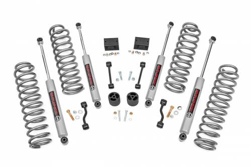 Jeep - JL Wrangler - Rough Country Suspension - 67731 | Jeep 2.5 Inch Suspension Lift w/ N3 Shocks