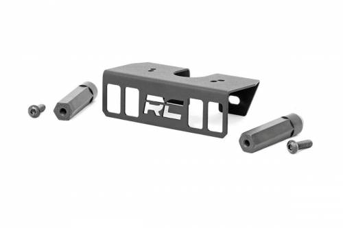 Exterior - Bumpers & Tire Carriers - Rough Country Suspension - 70055 | Jeep 3rd Brake Light Relocation Kit