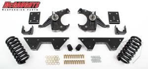 Mcgaughys Suspension Parts - 1973-1987 Chevrolet, GMC C-10 Pickup 2wd 4.5/6 Inch Drop - HD Rotors