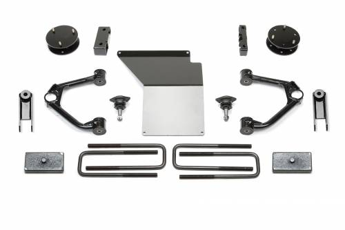 Fabtech Suspension - K1091 | GM 4 Inch Suspension Lift Kit w/ Magneride - 4.0 F / 1.5 R