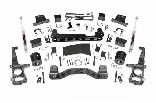 Rough Country Suspension - 557.22 | 6 Inch Ford Suspension Lift Kit