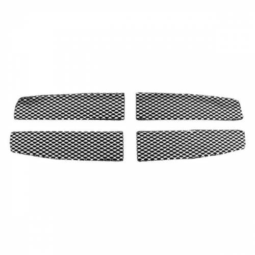 Street Scene Equipment - 950-77607 | Dodge 4 Piece Main Grille | Satin
