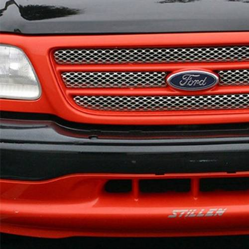 Street Scene Equipment - 950-77703 | Ford Main Grille | Satin