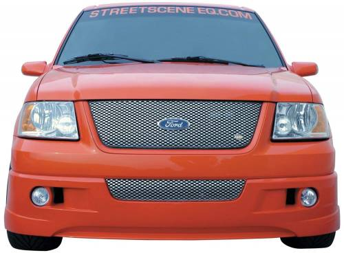 Street Scene Equipment - 950-77831 | Ford Gen 1 SSE Valance Grille | Satin