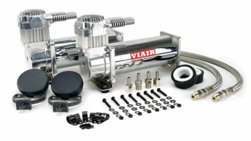 Parts & Pieces - Air Compressors - Air Lift Performance - 23444 | Viar 444C Dual Chrome Compressors |  200 Psi