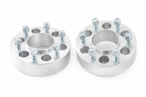Wheels - Wheel Spacers - Rough Country Suspension - 10086 | 1.5 Inch GM Wheel Spacers